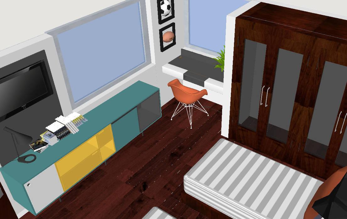 Remodelación de habitación de Mono Studio