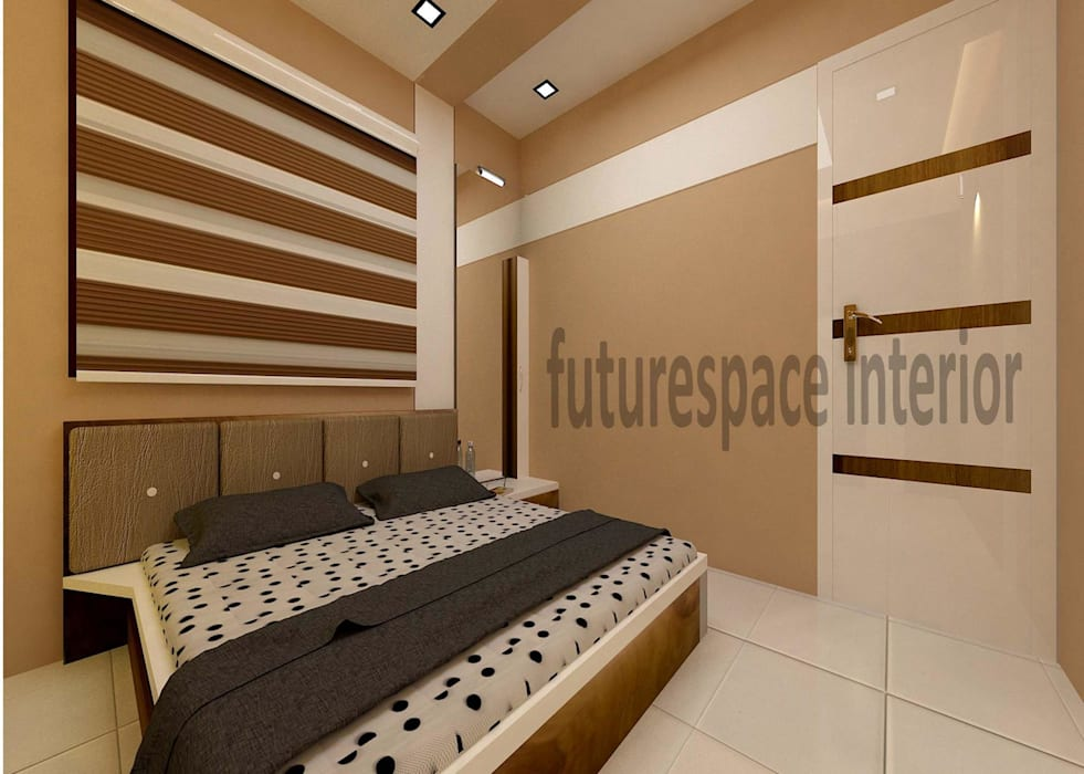 Residence Interiors:  Bedroom by Future Space Interior
