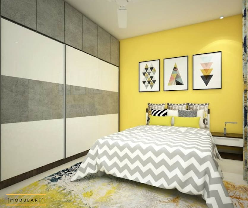 residential Interiors:  Bedroom by Modulart