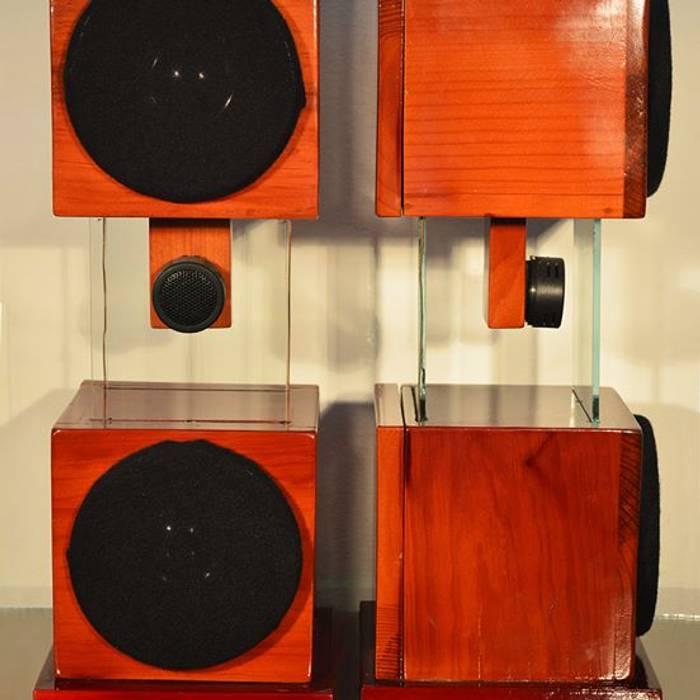 por D-fi Sound Clássico Madeira Acabamento em madeira