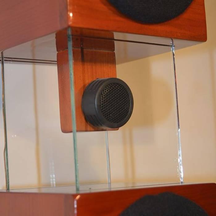 Flotante: armoniza tu espacio de D-fi Sound Clásico Madera Acabado en madera