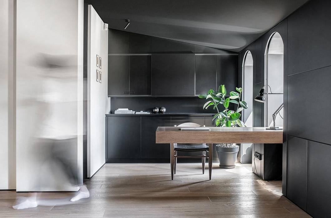 Cocinas de estilo  por Athrva architect,