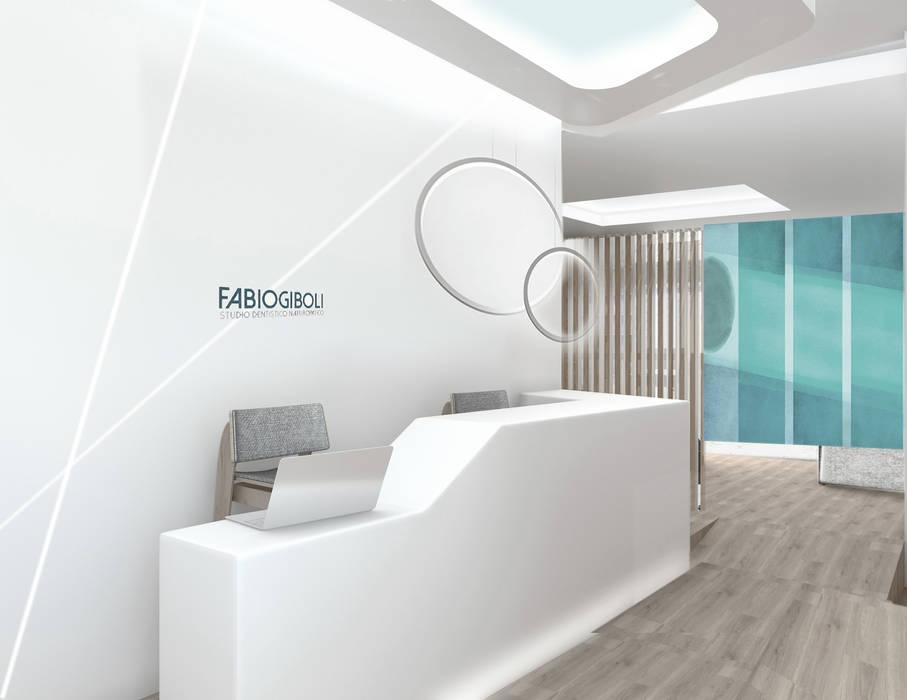 Accoglienza/reception: Cliniche in stile  di Silvana Barbato, StudioAtelier