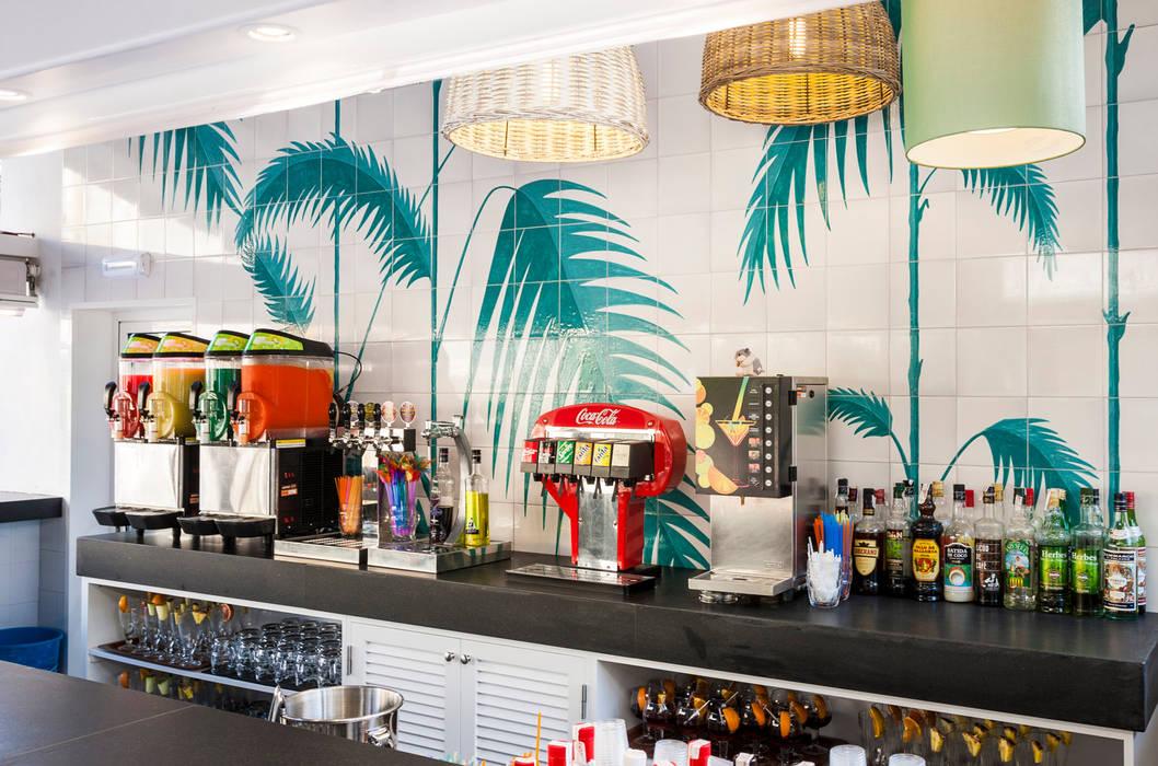 Mural Pintado Para Pool Bar Protur Safari Park Hotel Spa Hoteles