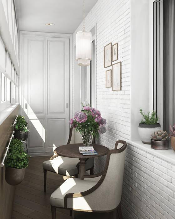 Дизайн-проект квартиры в пос. Успенское от Style Home Классический