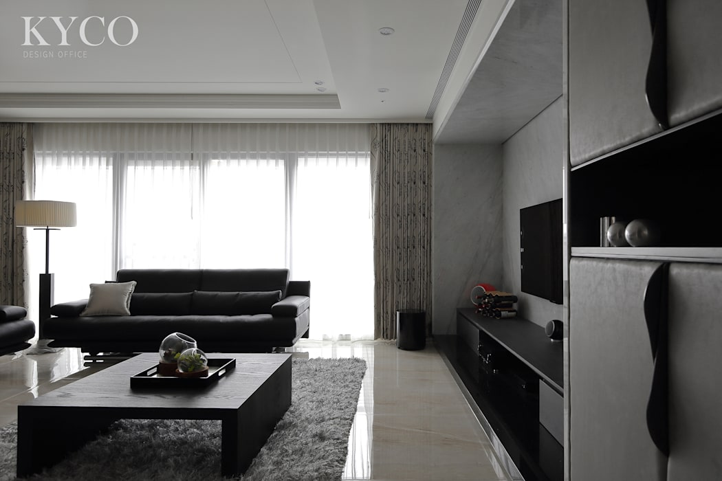 Modern Living Room by 芮晟設計事務所 Modern