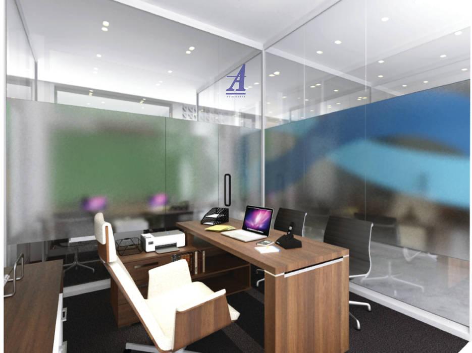 GRAHA SARINA VIDI (VIDI OFFICE) - YOGYAKARTA, INDONESIA: Gedung perkantoran oleh Asta Karya Studio,