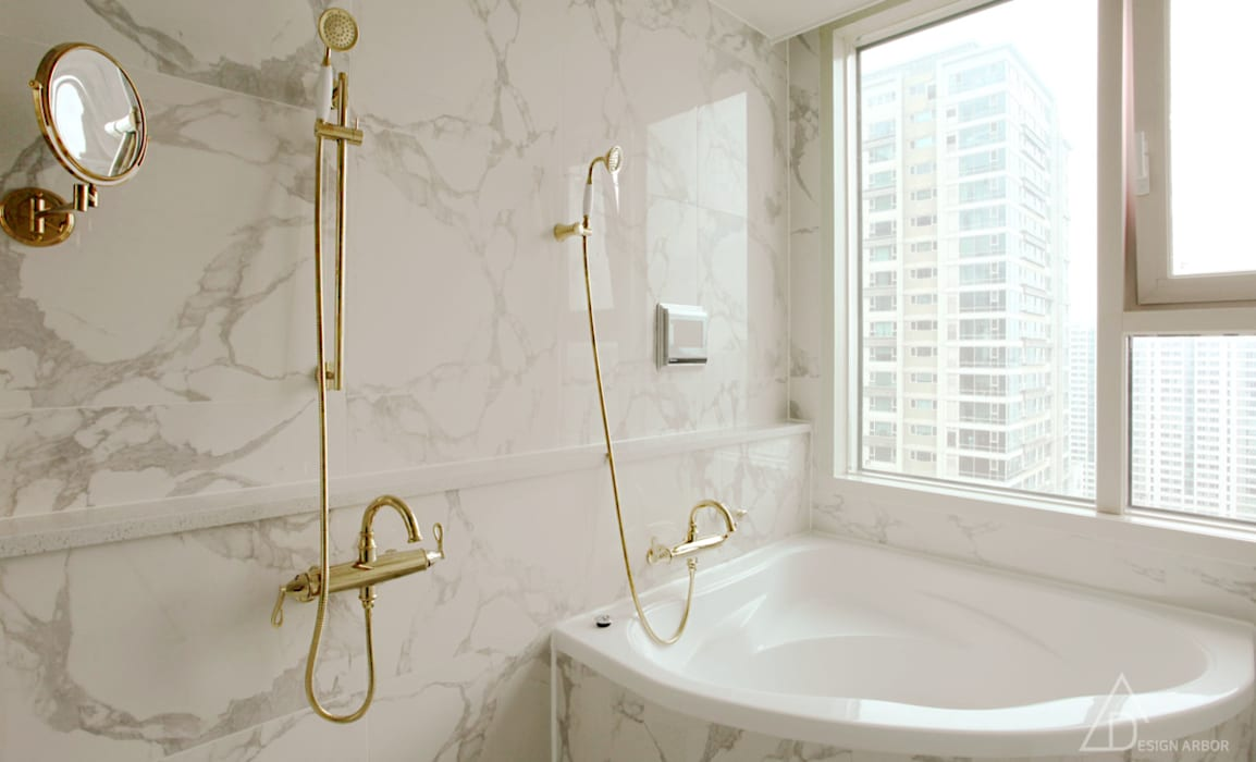 디자인 아버 Classic style bathroom