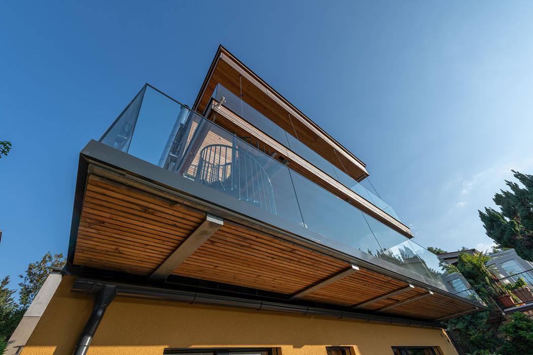 Casas de estilo moderno de AL ARCHITEKT - in Wien Moderno
