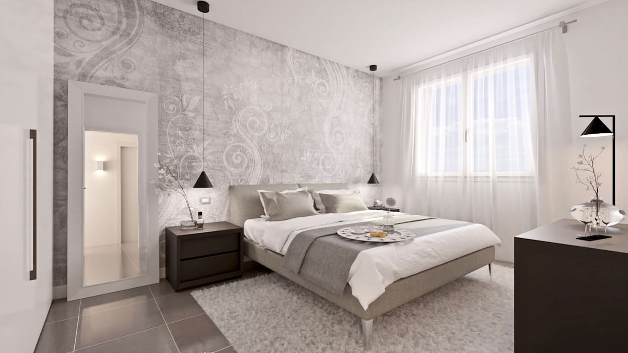 Dormitorios de estilo moderno de Gentile Architetto Moderno