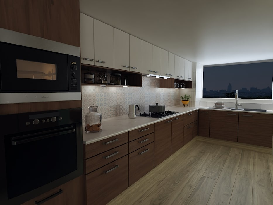 Built-in kitchens by Soma & Croma,