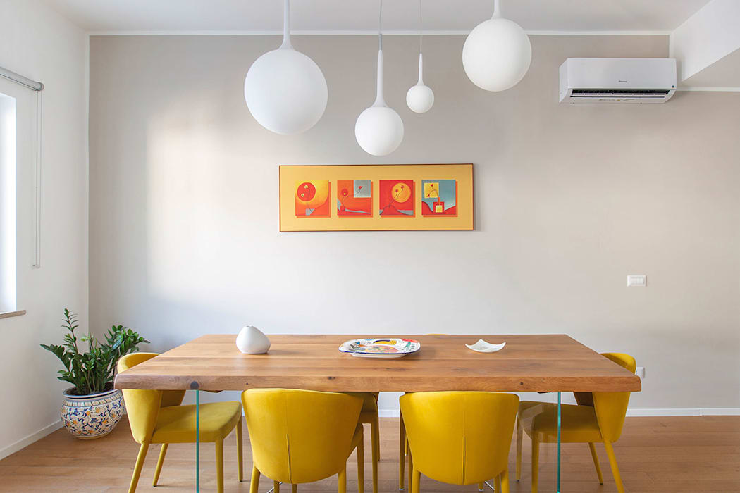 Living Sala da pranzo moderna di Facile Ristrutturare Moderno
