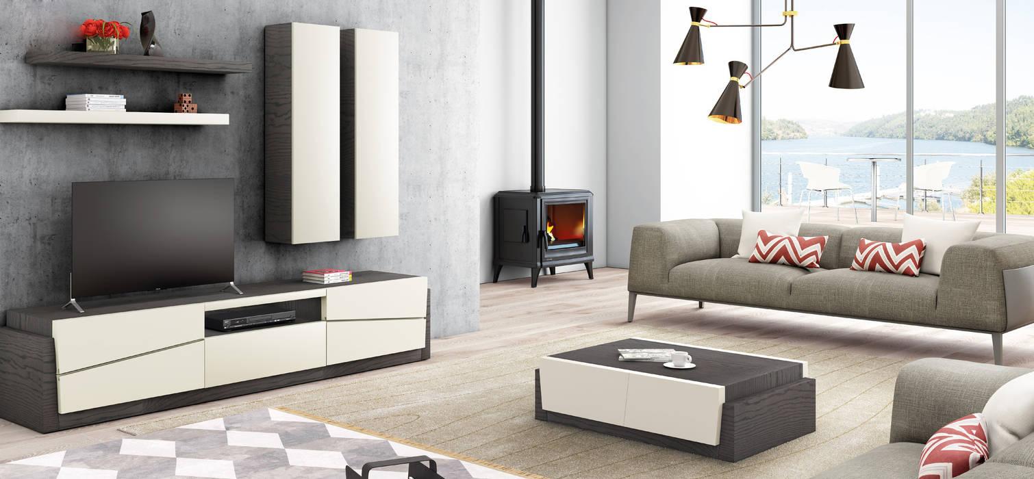 Living room by Maria José Faria Interiores Ldª