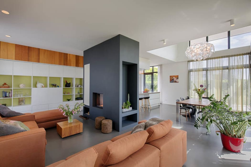 Openhaard In Woonkamer : Vri interieur open haard in landelijke stijl te leersum. vri
