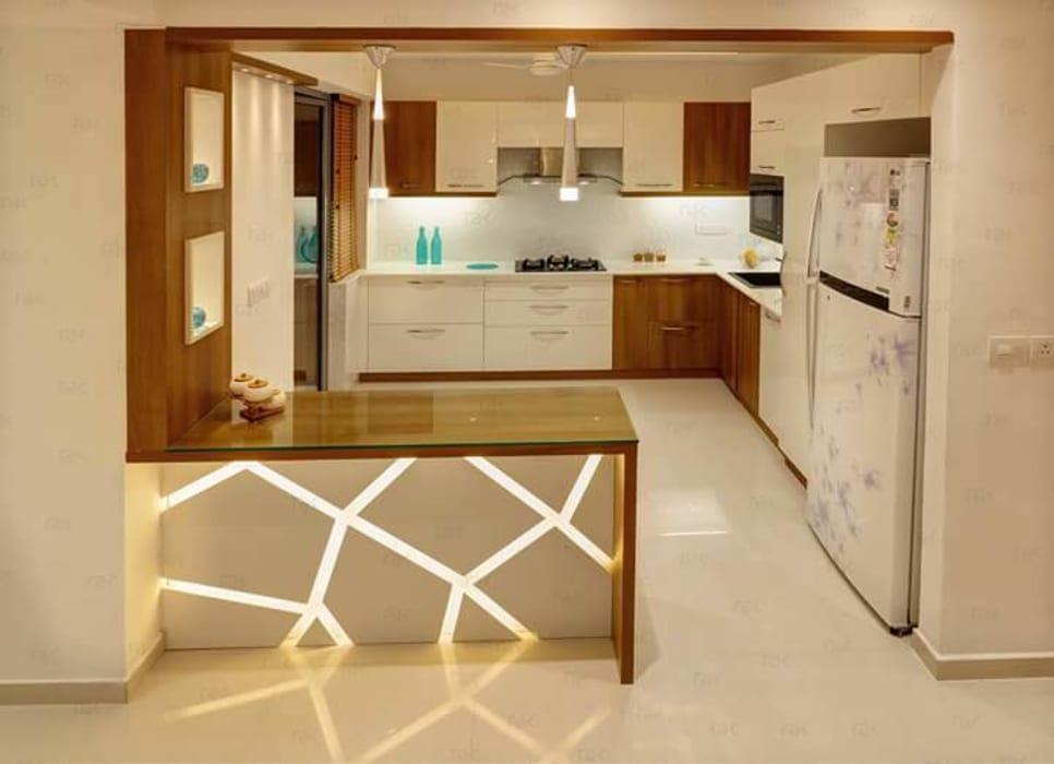 Interior Classic style kitchen by AJ Atelier Architects Classic
