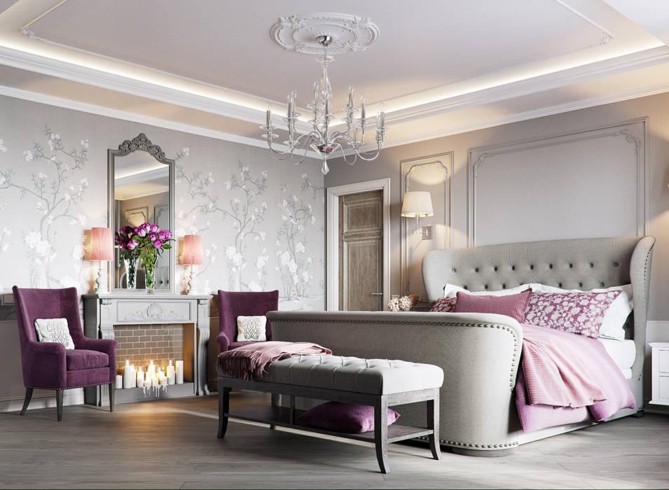 EJ Studio Mediterranean style bedroom
