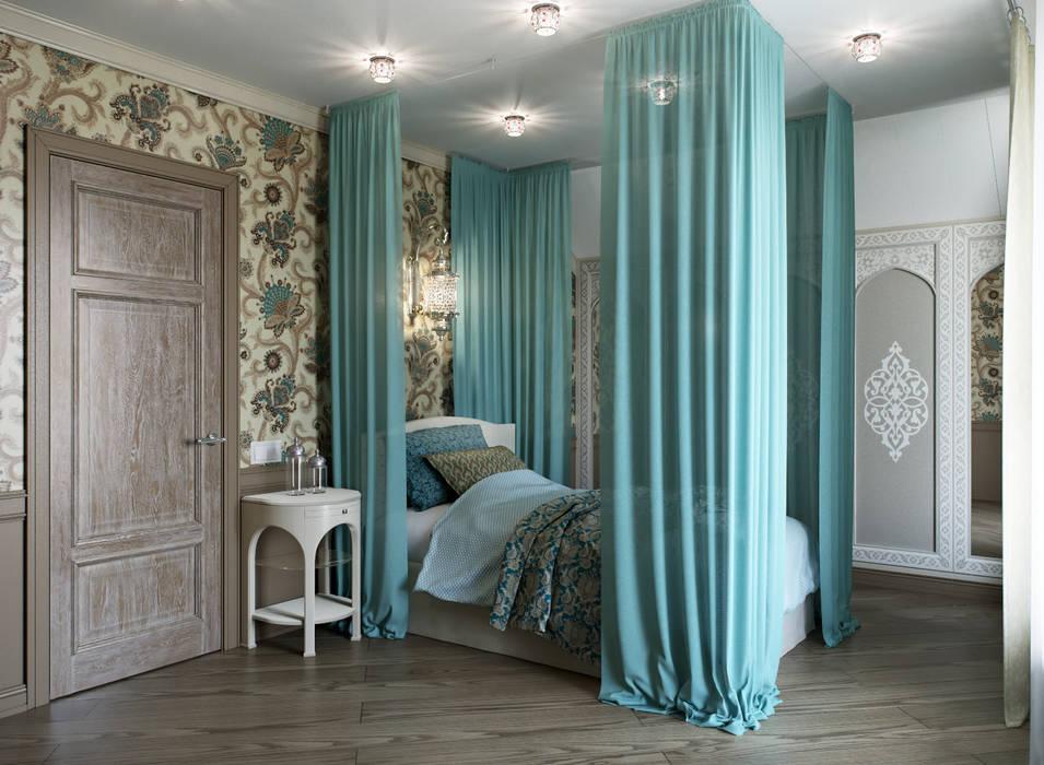 Dormitorios mediterráneos de EJ Studio Mediterráneo