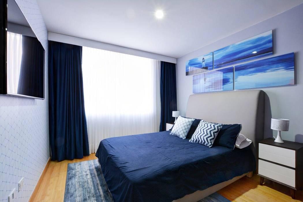 Dormitorios de estilo moderno de Natalia Mesa design studio Moderno