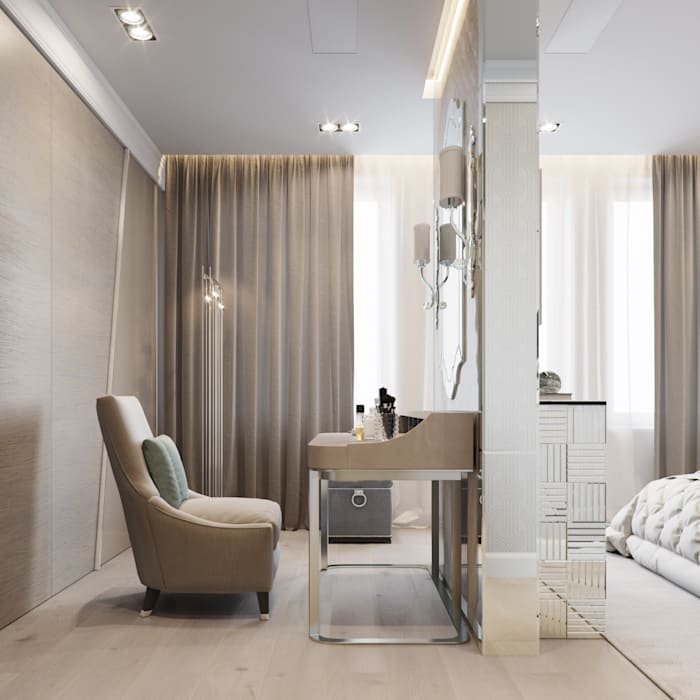 Eclectic style dressing rooms by EJ Studio Eclectic