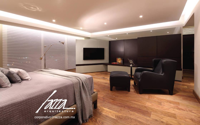 Recamara principal Dormitorios modernos de homify Moderno Madera Acabado en madera