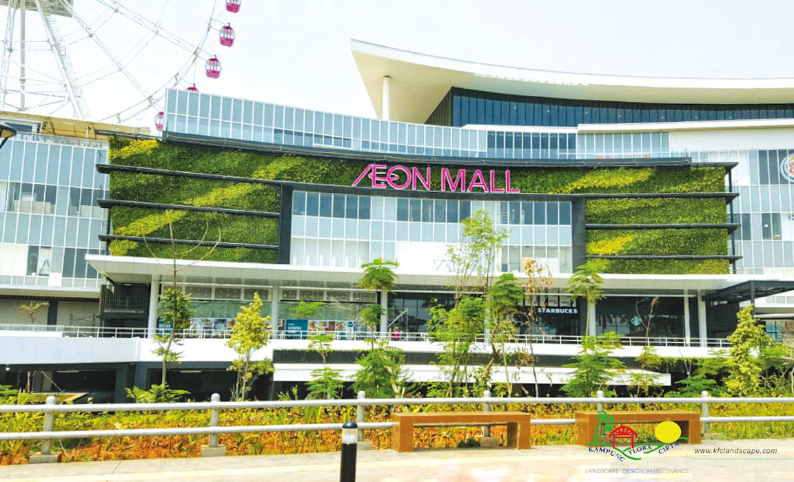 Shopping Centres by PT. Kampung Flora Cipta,