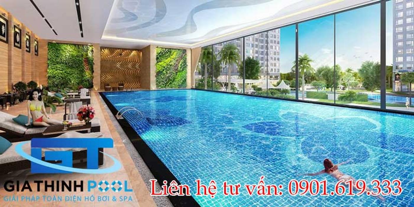 Thiết kế thi công hồ bơi nghỉ dưỡng GiaThinhPool & SPA