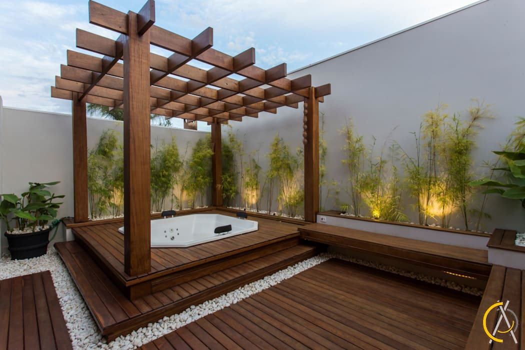 by Arquiteta Carol Algodoal Arquitetura e Interiores Modern Wood Wood effect