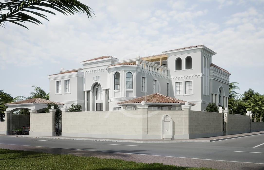 Mediterranean Arabic House Design Detached Home By Comelite Architecture Structure And Interior