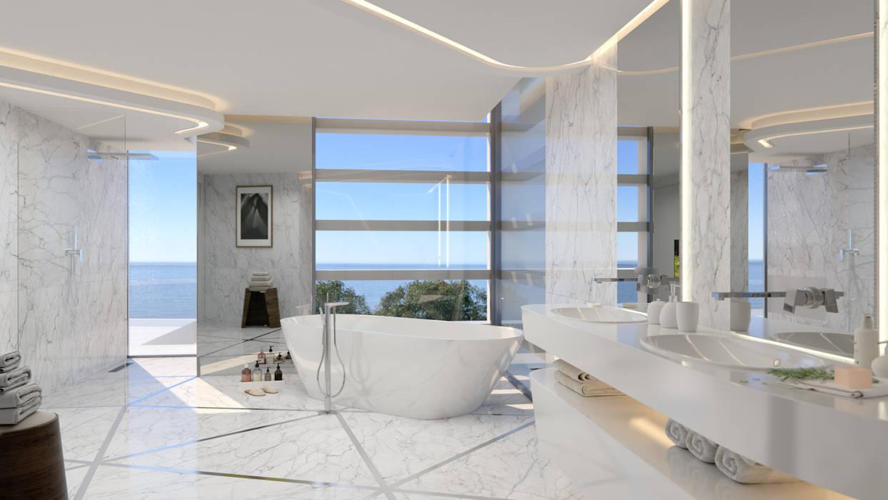 Villa de style  par G&J ARQUITECTURA, Moderne