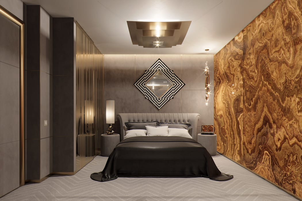 Eclectic style bedroom by EJ Studio Eclectic