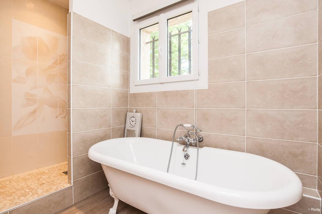 Salle de bain familiale rénovée salle de bain classique par ...