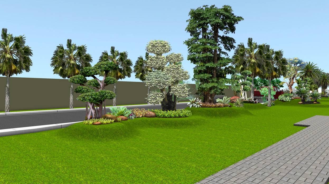 ilustrasi desain taman 3 surabaya:  Garden  by TUKANG TAMAN SURABAYA - jasataman.co.id