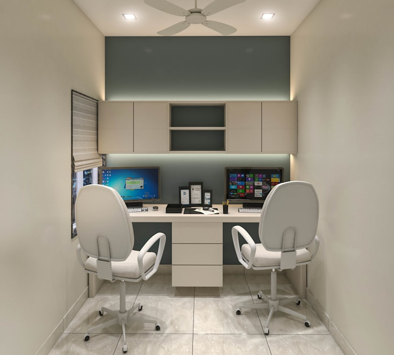 Arbeitszimmer von Spaces Alive