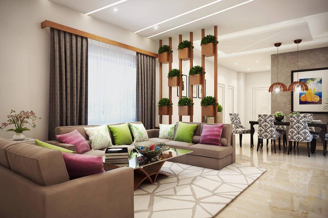 MARVEL ENIGMA Moderne Wohnzimmer von Spaces Alive Modern