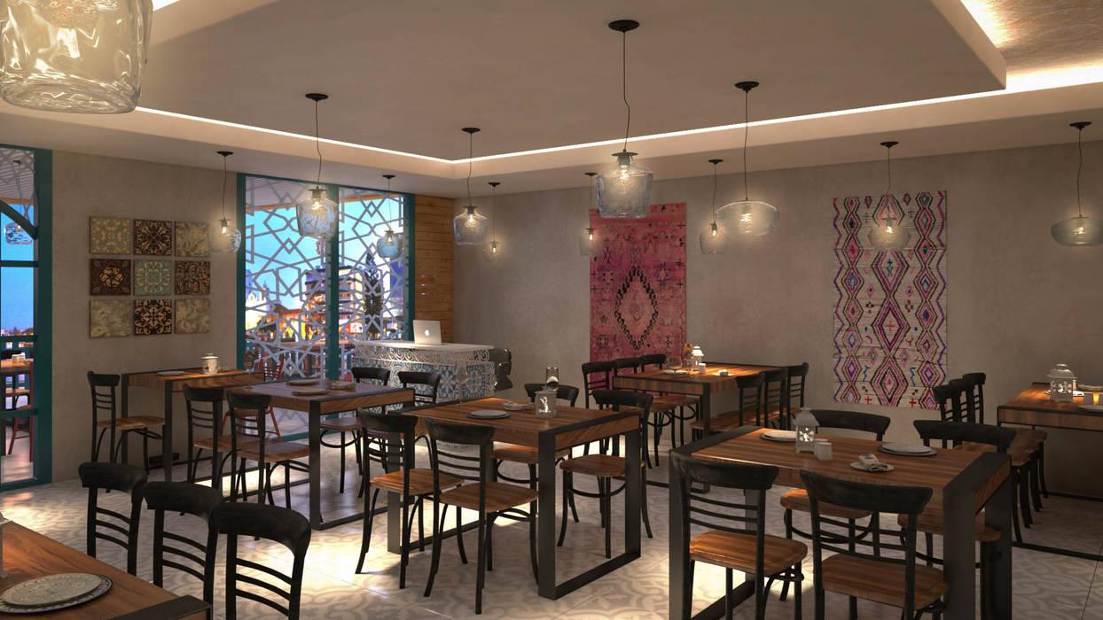 REDDY_S BIRYANI ZONE Moderne Gastronomie von Spaces Alive Modern