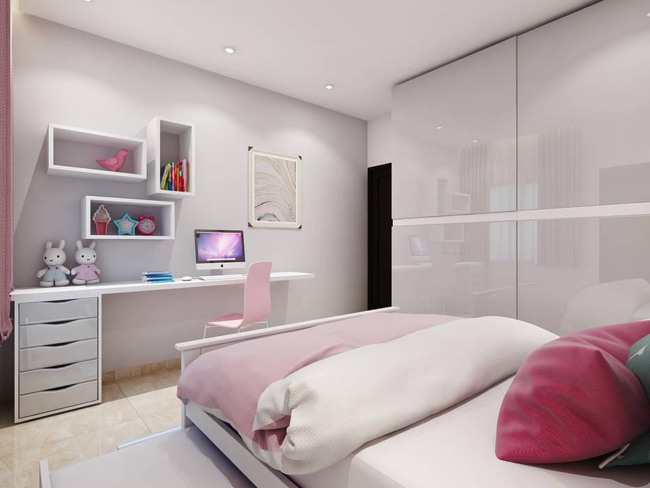 ห้องนอนเด็ก โดย Spaces Alive, โมเดิร์น