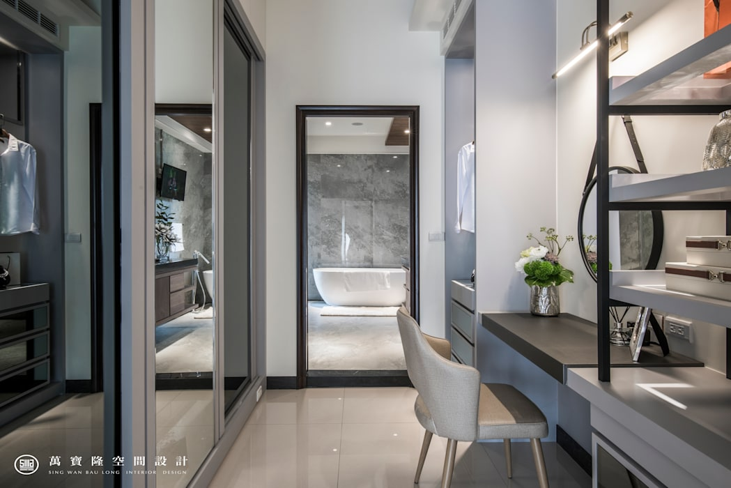 Bathroom by SING萬寶隆空間設計, Modern