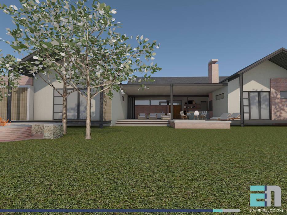 View towards verandah by ENDesigns Architectural Studio Modern