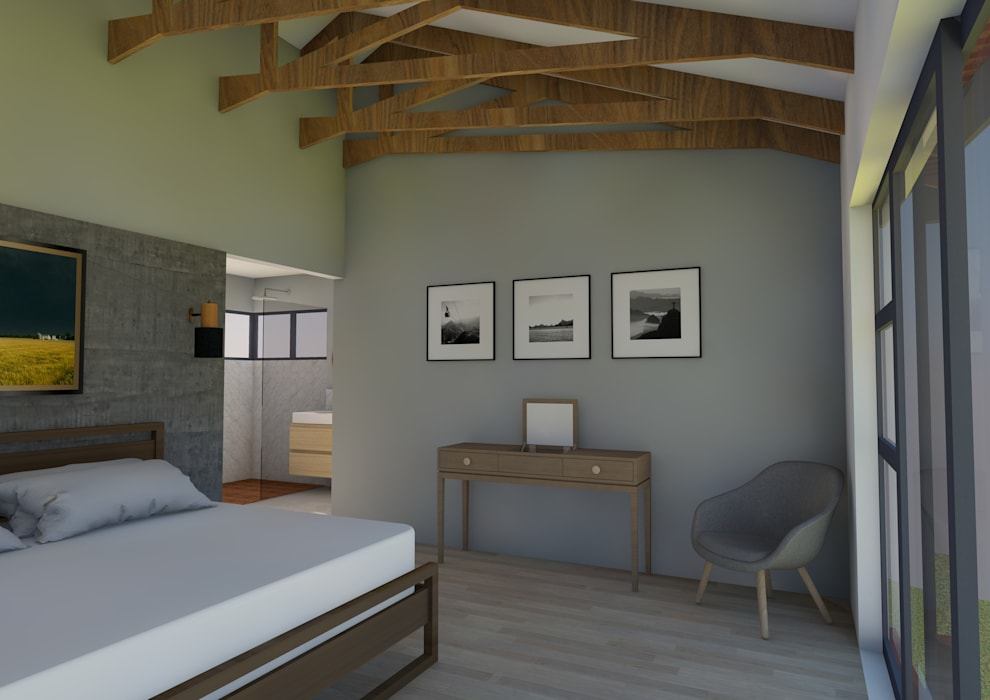 View of Bedroom Modern style bedroom by ENDesigns Architectural Studio Modern