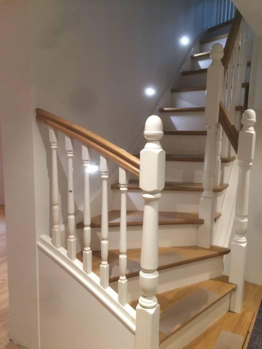 Gewendelte Treppe Von Das Werkhaus Langerwisch Landhaus Homify