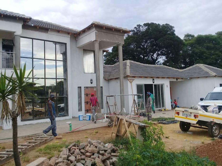 Building A Residential House by Bem-Co Holdings