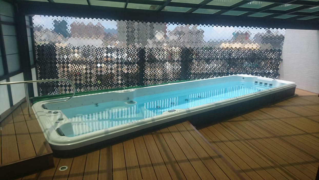 別墅泳池規劃要點 根據 上群休閒水藝開發有限公司 現代風