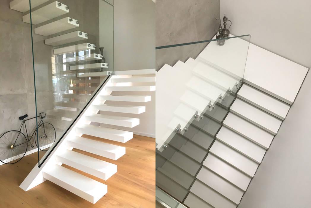 Escalier De Style Par Siller Treppen Stairs Scale Moderne