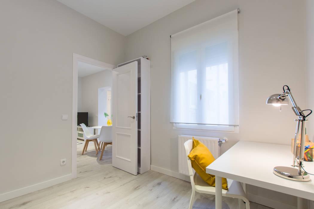 Dormitorio-estudio después de CASA IMAGEN