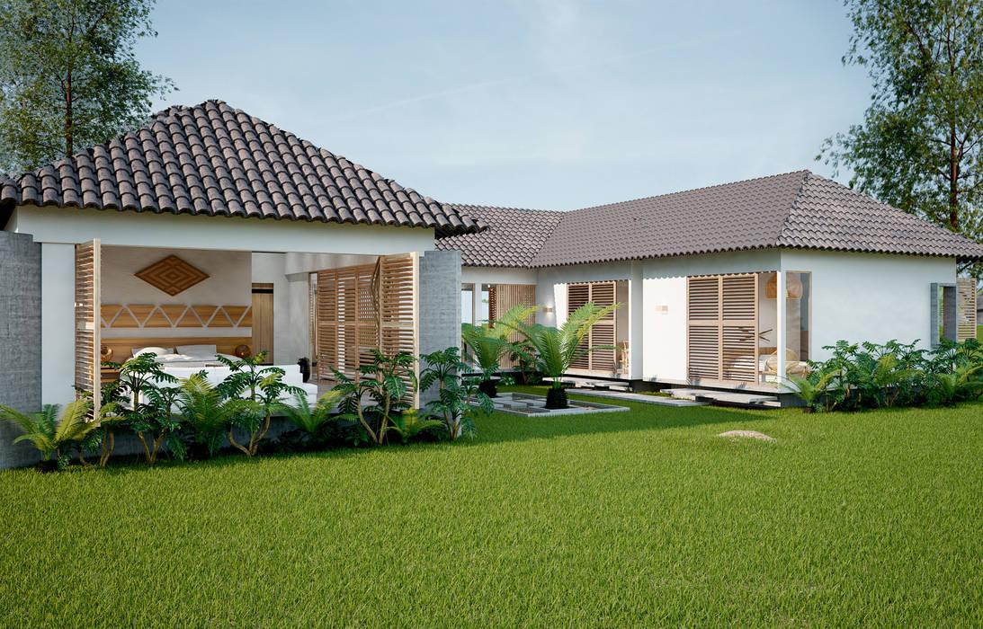 casa principal hotel miraflores de Adrede Diseño Tropical