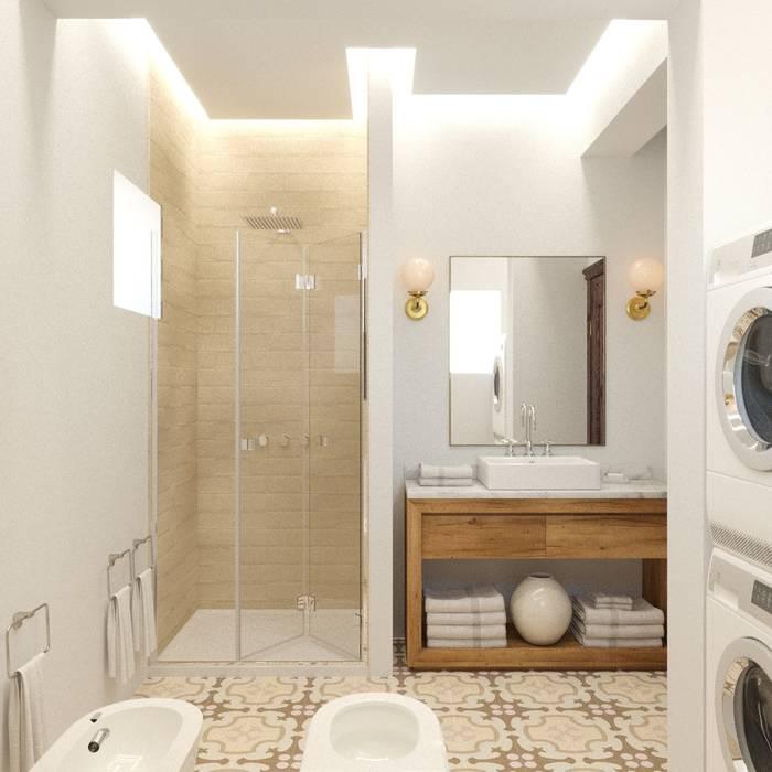 Eli's Home Mediterranean style bathrooms