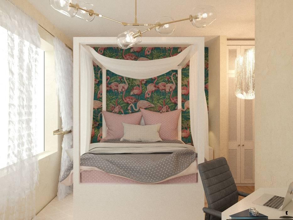 Яркая вилла на о. Кипр|Bright villa on Cyprus|Parlaklı villa Kıbrıs'ta: Детские комнаты в . Автор – Eli's Home,