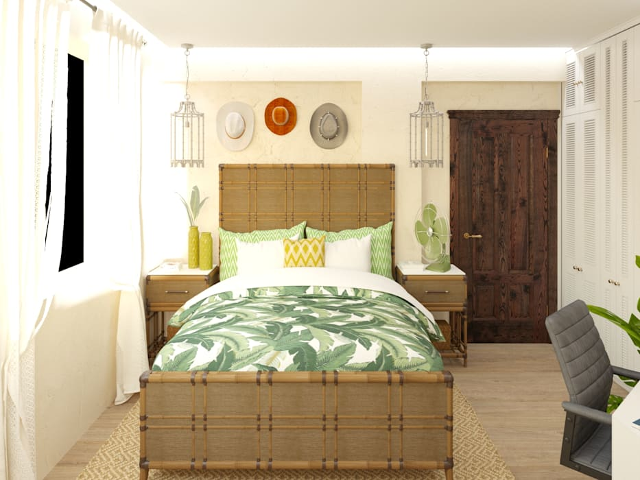 Eli's Home Mediterranean style bedroom