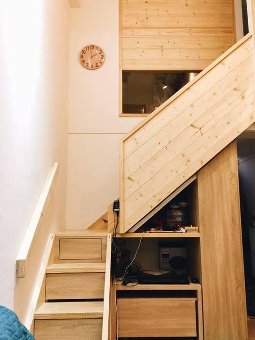 Cầu thang by 圓方空間設計