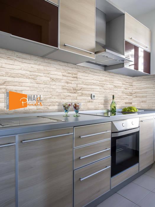 Rivestimento murale cucina di wallpanels moderno | homify